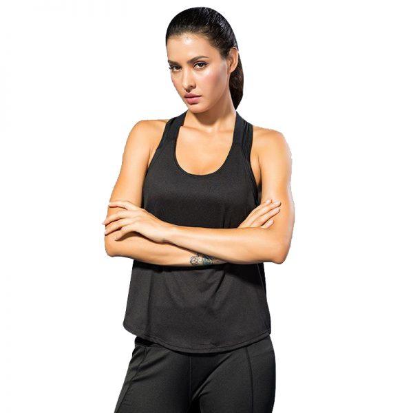 áo tank top energy đen