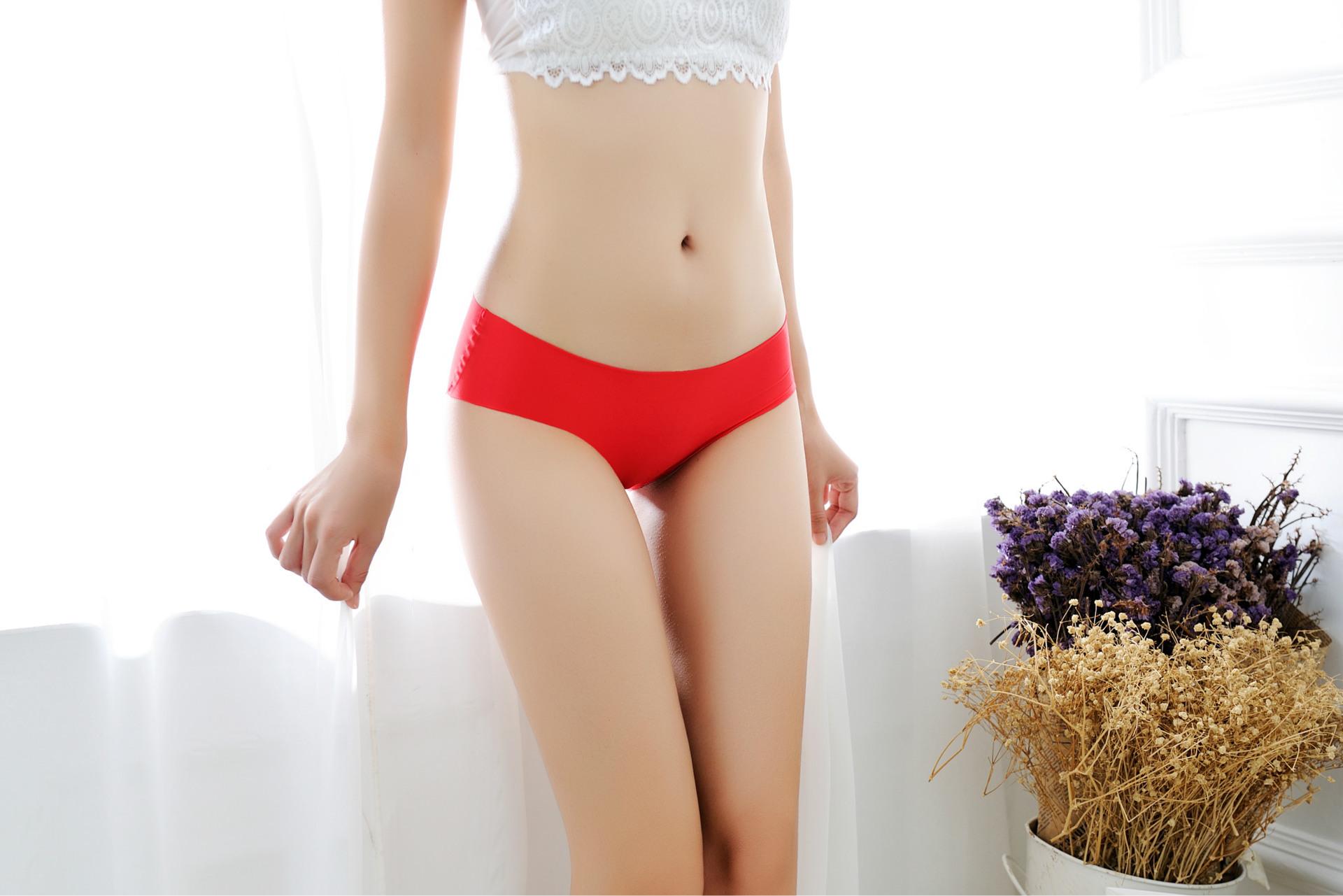 quần lót nữ lụa đúc camio red