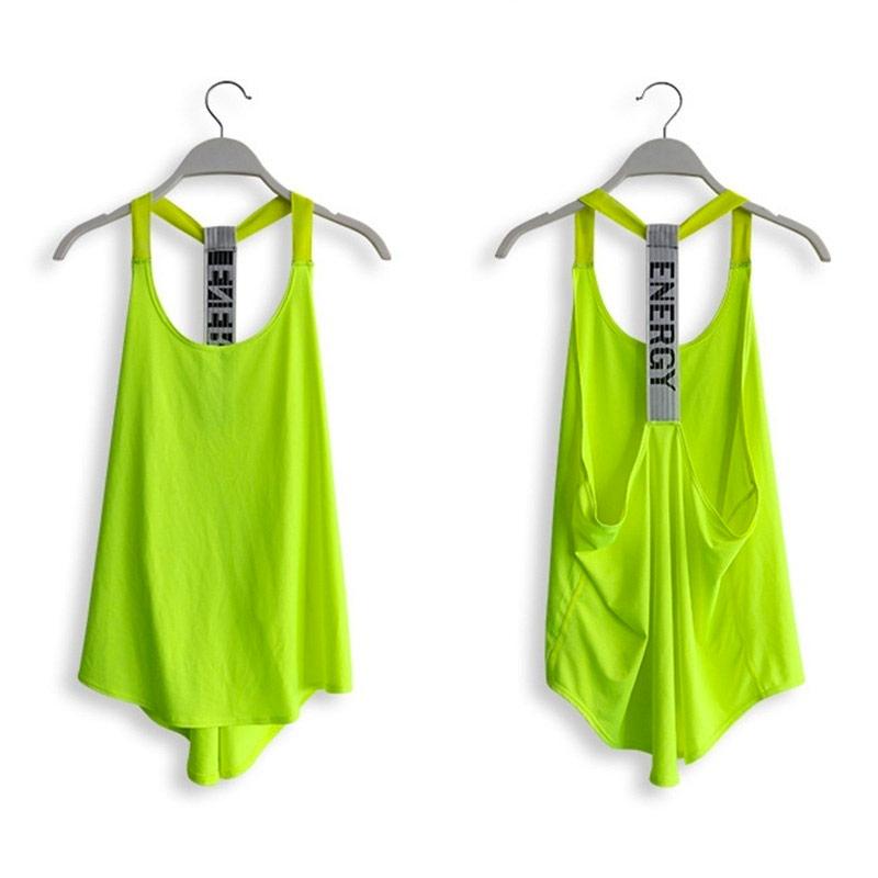 áo tank top energy xanh neon