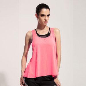 áo tanktop 360s flex training hồng phấn