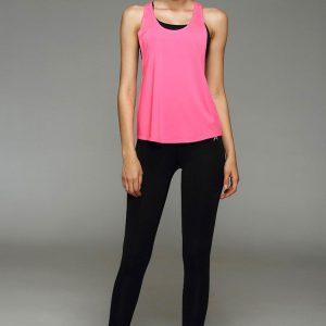 áo tank top gym yoga nữ 360s streacker màu hồng