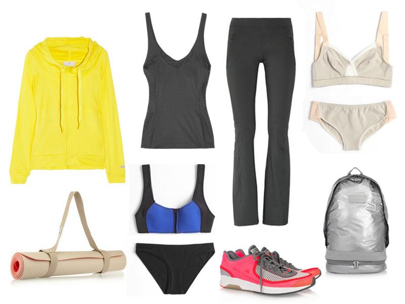 chọn quần áo tập yoga nữ