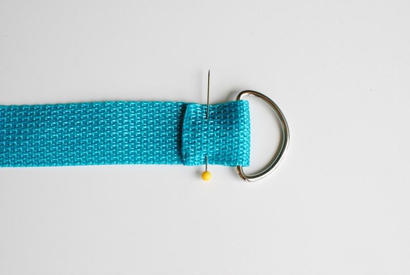 tự làm dây đeo thảm tập yoga