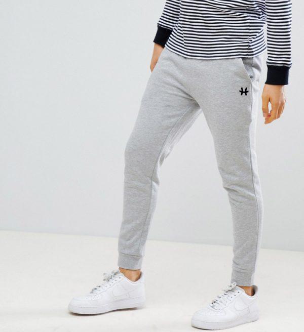 quần jogger nam hummal hyper gray xám