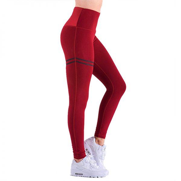 Quần legging agless màu đỏ