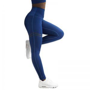 Quần legging agless màu xanh dương