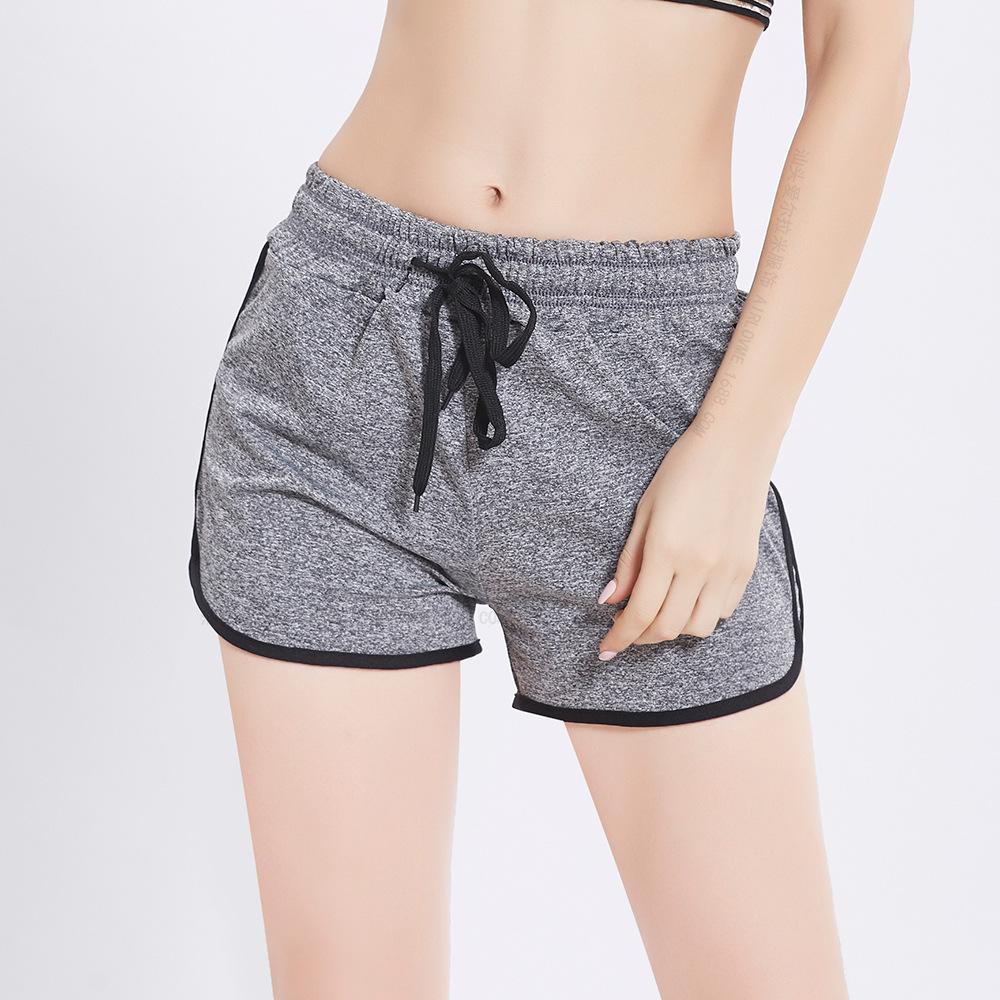 Quần shorts curl xám