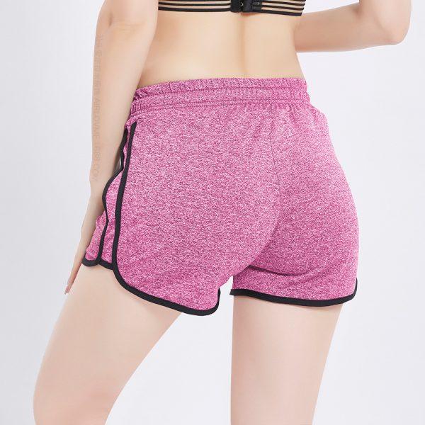 Quần shorts curl hồng