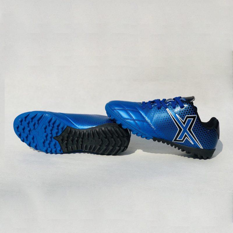 Giày bóng đá nhân tạo fex màu xanh dương