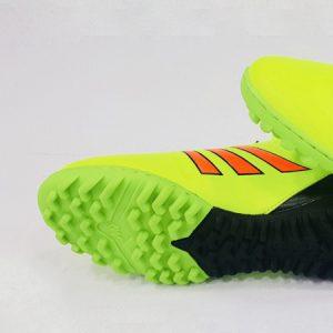 Giày bóng đá nhân tạo Copa màu dạ quang đen