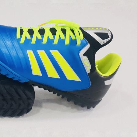 Giày bóng đá nhân tạo Copa màu xanh dương đen