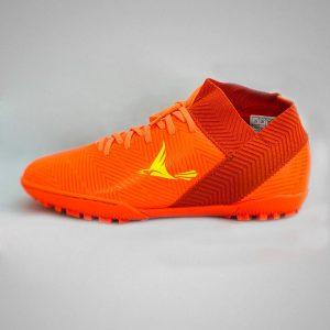 Giày bóng đá nhân tạo mira07 màu cam