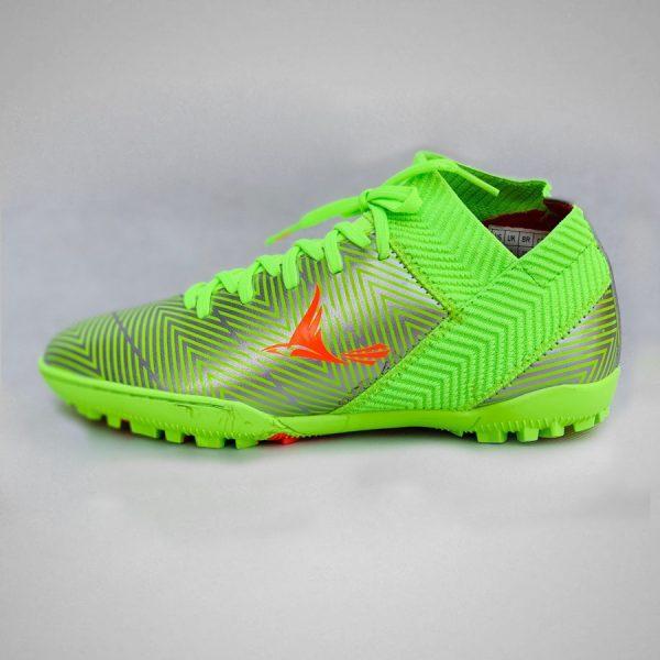 Giày bóng đá nhân tạo mira07 màu dạ quang