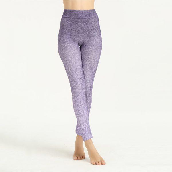 Quần legging 360s standing màu tím