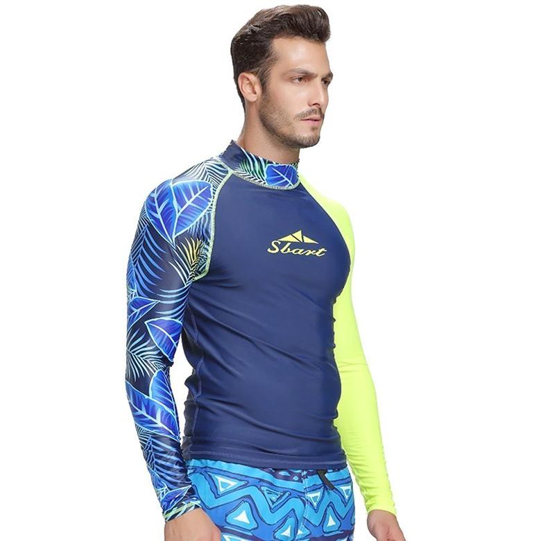 ao boi nam Swim shirts