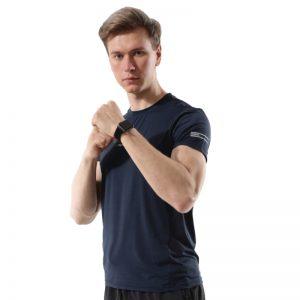 Áo thun thể thao design màu xanh đen