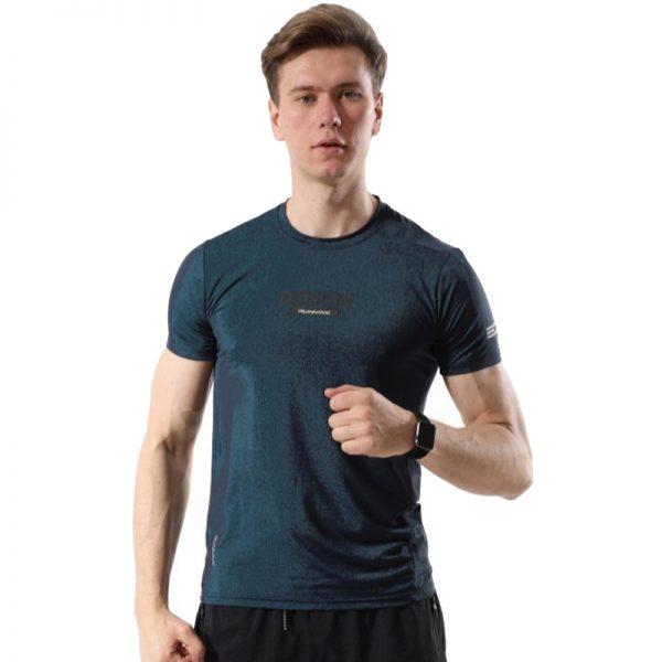 Áo thun thể thao design màu xanh rêu